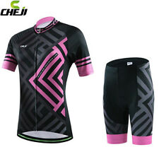 Women Cycling Jersey Bicycle Ciclismo Bike Shirt Outdoor Sports Short Sleeve Top