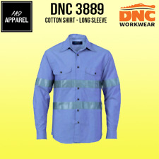 Cotton Chambray Shirt with Generic R/Tape - Long sleeve Brand New 3889 dnc