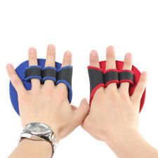 Grip  Weight Lifting Pads Gloves Fingerless Gym Workout Fitness Training Quality