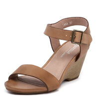 New Gamins Lars Tan Womens Shoes Casual Sandals Heeled