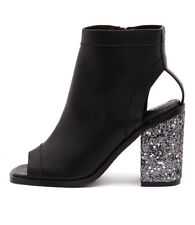 New Sol Sana Voyage II Boot Black/Steel Glitter Women Shoes Boots Ankle Boots