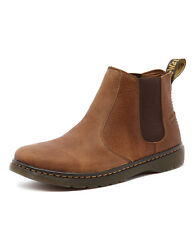 New Dr. Martens Men's Lyme Tan Grizzly Men Shoes Boots Casuals Boots