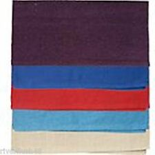 """Tough-1 Solid Acrylic Saddle Blanket 32""""x 32"""" Strong Woven Lightweight Cotton"""
