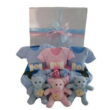 NEW Baby Gift Hampers Three Little Bears in a Box - Boys & Girls