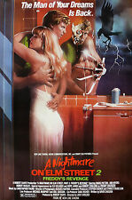 A NIGHTMARE ON ELM STREET 2 FREDDYS REVENGE Classic Movie Poster A1A2A3 A4Sizes