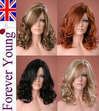 Ladies Long Wigs Blonde Black Brown Red Fashion Wig Forever Young Wigs