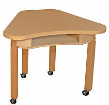 """Wood Designs Synergy 30"""" x 24"""" Trapezoidal Activity Table"""