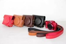 New Leather Camera Case Bag For Canon Powershot SX170IS SX170 SX130 SX150 SX160