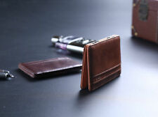 Mens Magic Wallet Leather Slim Money Clip Credit Card Holder ID Business Hot HME