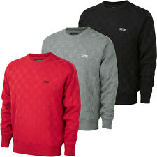 Cypress Point 2014 Mens Crew Neck Jacquard Lined Windproof Golf Sweater Jumper