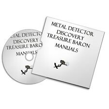 DISCOVERY TREASURE BARON  METAL DETECTOR USER OWNER MANUALS  DETECTING FREE P+P
