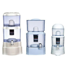 8 Stage Water Filter Ceramic Carbon Mineral Benchtop Dispenser Purifier Top