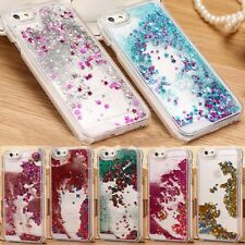 Luxury Glitter Star Liquid Back Phone Hard Case Cover for iphone 7 7Plus 6SPlus
