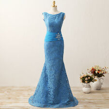 Women's Long Mermaid Dress Prom Dress Evening Party Gown Formal Bridesmaid Dress