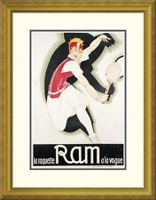 Global Gallery 'Ram' by Rene Vincent Framed Vintage Advertisement