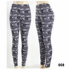 Warm Winter Spring Women's Elephant  Knitted Leggings Pants New Sexy