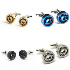 High Quality Stainless Steel Rotation Cufflinks For Mens Wedding Groom brand