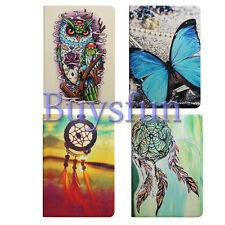Colorful Owl Butterfly Flip Stand Leather Cover Case For iPad Mini & Retina 3