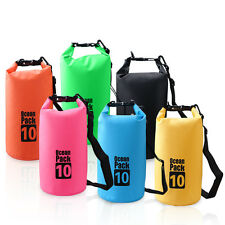 10L Waterproof Storage Dry Bag Packs for Hiking Swimming Sports Canoeing
