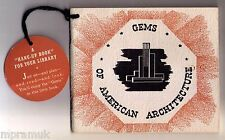 1935 Gems of American Architecture mail order outhouses brochure catalog