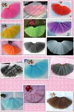Girl's 3 Layers Petti Tutu ballet/ party  fairy Skirt, dressing up, age 2 to 8