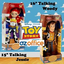BRAND NEW Disney Toy Story Woody and Jessie Figure Doll Soft Toy Talking Figure