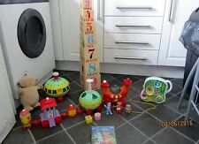 IN THE NIGHT GARDEN BUNDLE TOYS LARGE MUSICAL/LIGHTS NINKY NONK TRAIN//TALKING M