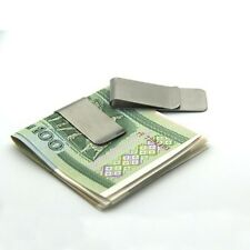 Stainless Steel Pocket Money Cash Clip Holder ID Card Credit Card Clip Durable