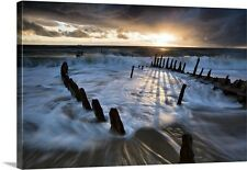 Canvas On Demand Shipwrecked by Mel Brackstone Photographic Print on Canvas