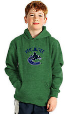 NHL Vancouver Canucks Suede Crest Youth Hoodie
