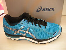 ASICS MENS GT-2000 3 RUNNING SHOES- SNEAKERS -T500N- 4093-TURQUOISE/SILVER/BLACK