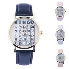 Women Watch Leather Band Casual Dress Watchs Analog Quartz Wrist Watch Xmas Gift