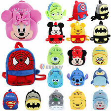 Kids Boys Girls Cartoon Student School Bag Backpack Shoulder Rucksack Book Bags