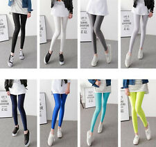 Hot Women Stretch Candy Pencil Pants Casual Slim Fit Skinny Jeans Trousers