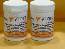 SUPER WINE YEAST COMPOUND 60 grms x  2