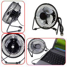 Mini USB Cooler Cooling Portable Super Mute Laptop Computer PC Metal Desktop Fan