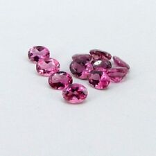 3x4mm - 6x4mm Faceted Cut Oval Natural Pink Tourmaline Top Quality Loose Gemsone