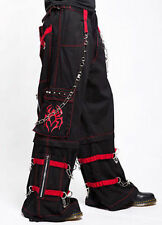 Tripp Nyc Red Spider Bondage Pants Cargo Party Goth Skater Punk Rock S-2Xl