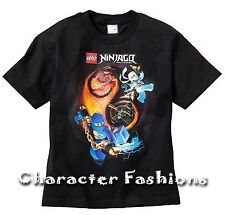 Lego NINJAGO Shirt Tee size 18 Short Sleeve BLACK