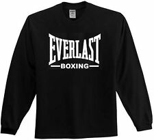 BRAND NEW EVERLAST BOXING LONG-SLEEVE T-SHIRT - GREAT SHIRT FOR THE GYM