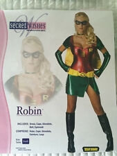 Robin Womens Halloween Costume Superhero Batman Rubies Costume 888897