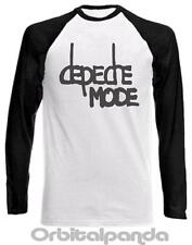 Long Sleeve Baseball T-Shirt with DEPECHE MODE logo