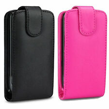 NEW FLIP PU LEATHER CASE COVER POUCH FOR MOBILE PHONE + FREE SCREEN PROTECTOR