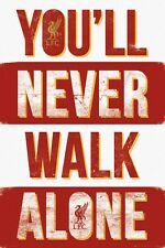 Liverpool You'll Never Walk Alone LFC Poster 61x91.5cm