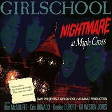 Nightmare At Maple Cross - Girlschool New & Sealed CD-JEWEL CASE Free Shipping