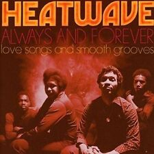 Always & Forever: Love Songs & Smooth Grooves - Heatwave New & Sealed CD-JEWEL C