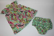 Vera Bradley Baby Infant Dress & Bloomers Tutti Frutti Gift Set 0 3 6 9 12 month