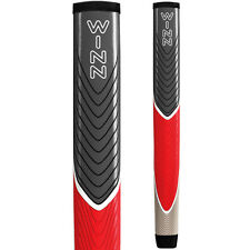 WINN  LITE PISTOL PUTTER Golf  GRIP. GRAY/RED/ J8LWS-GRS 59 GRAMS