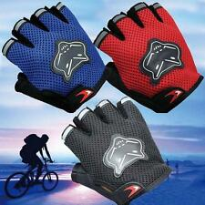Outdoor Sports Half Finger Gloves For Racing Riding Mountain Bicycle Cycling