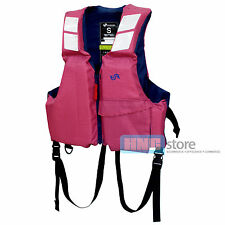 BLUESTORM Buoyancy Aid Adult Life Jacket PFD Boating Fishing Outdoor  Red Check